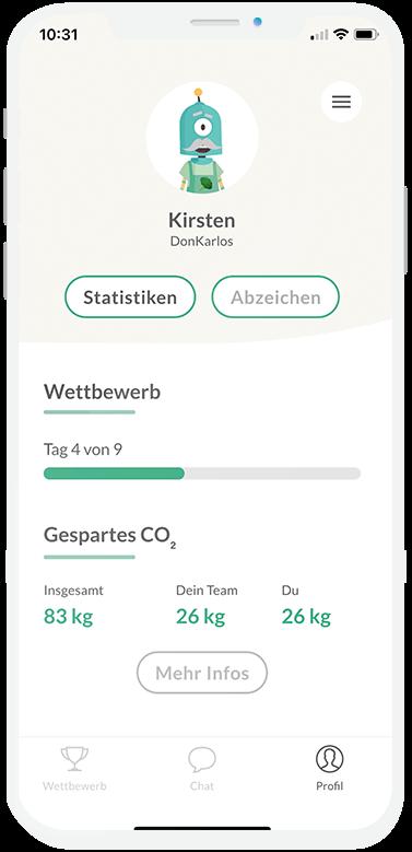 Errechne deinen CO2 Fussabdruck